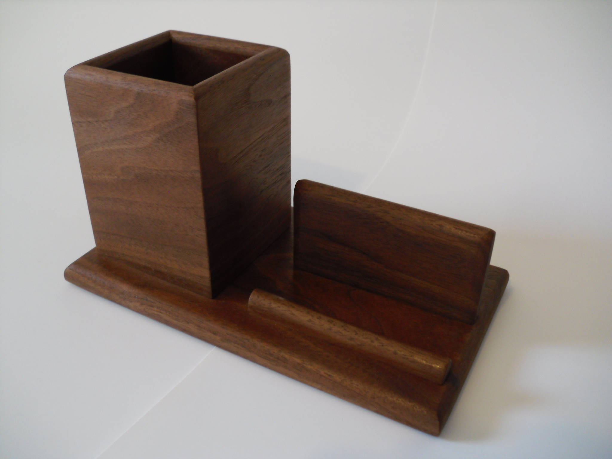 Homedecor business card and pen holders simple desk accent with a required purpose made with only high quality woods they are sure to be a focal point in your reheart Choice Image
